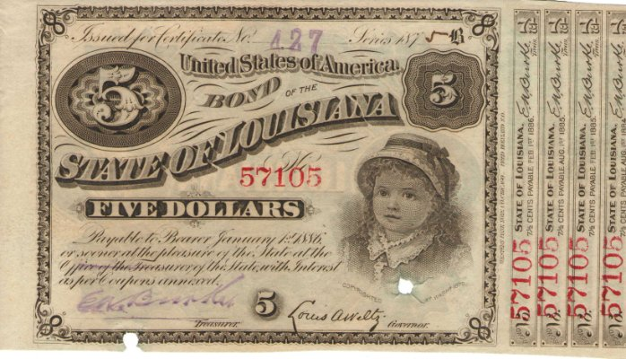 State of Louisiana Bond